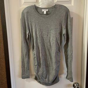 Motherhood Maternity Grey Longsleeve Sweater S
